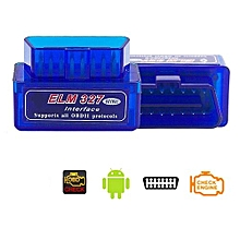 Super Mini ELM327 Bluetooth V2.1 OBD2 Wireless Car Diagnostic Scanner Universal OBD II Auto Scan Tool Work On Android Models:ELM327 V2.1 Specification:A-L02BJ-L