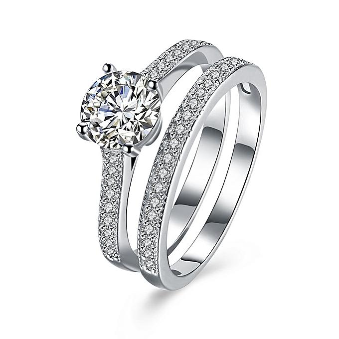 Buy Oem 925 Sterling Silver Women Wedding Engagement Ring Best
