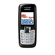 Nokia 2610 Single Sim Cell Phone - Black