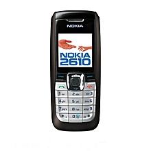 Nokia 2610 Single Sim Cell Phone - Black