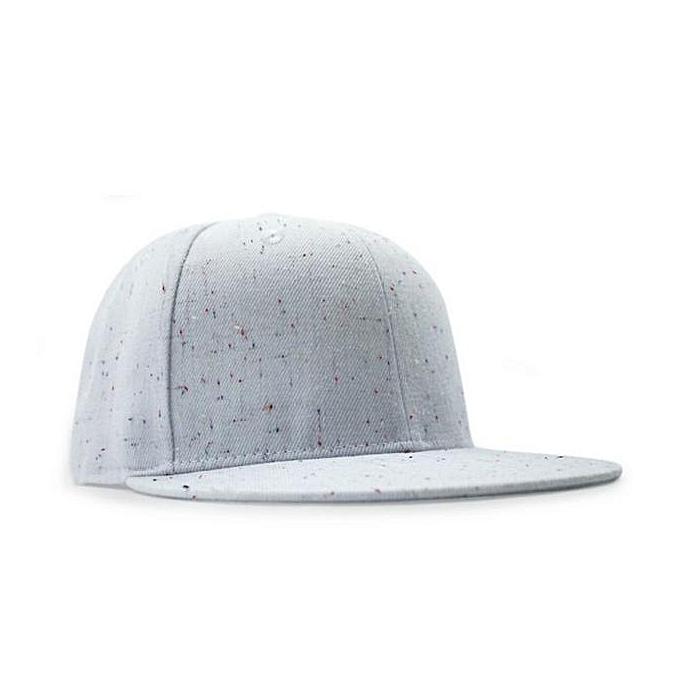 singedanMen Women Plain Baseball Cap Snapback Hat Hip-Hop Adjustable  Trucker Bboy Cap WH - 12a654b8b2f