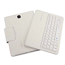 For Samsung Galaxy Tab S3 9.7inch Bluetooth Keyboard Leather Stand Case Cover WH