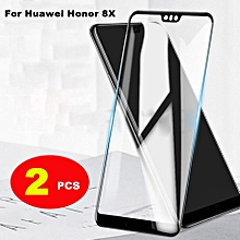 For Huawei Honor 8X Tempered Glass Screen Protector Film Full Cover Phone Casing 301976 Color-0