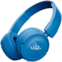 T450BT - Bluetooth-On Ear Headphones-Blue.