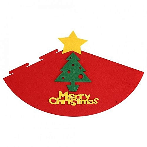 4ed6551a2eb34 Generic Unisex Non-woven Christmas Hat Adult Children Cap Festival Party  Decor (Red Christmas Tree)