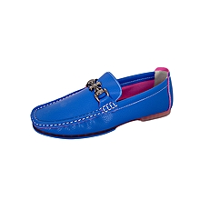 Blue Men's Loafers