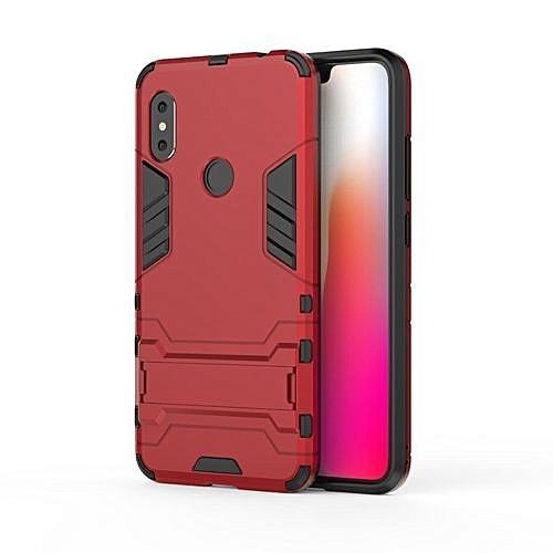 Buy Generic Phone Case For Xiaomi Redmi Note 6 /Note 6 Pro ,Iron Hard PC Man Armor Shield Case,Hybrid Silicone +TPU Cover Case For Xiaomi Redmi Note 6 /Note ...