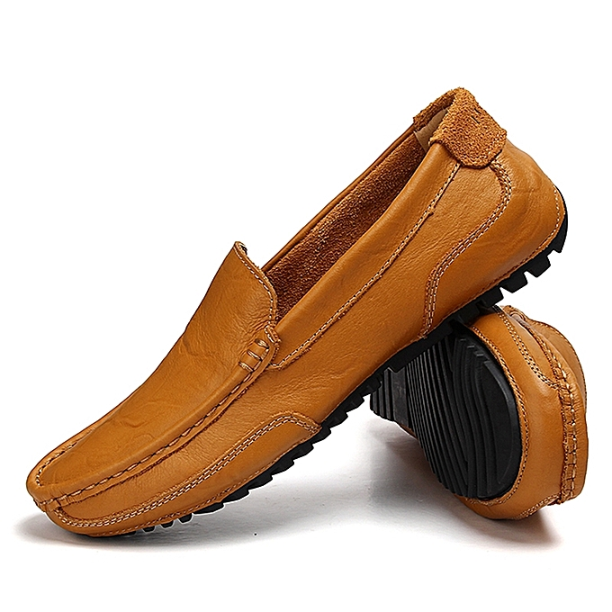 a01a0447b96 EUR 37-46 Men Loafers Genuine Leather Slip On Casual Shoes Mens Moccasins  Shoes Men s
