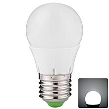 300LM E27 3W SMD 2835 16 LEDs 6500K Lights Energy Saving Globe Bulb - Cool White