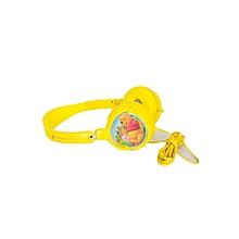 Classic Winnie the Pooh Foldable Headphones - Yellow