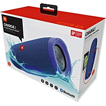 Portable Bluetooth Speaker Charge 3 Blue.