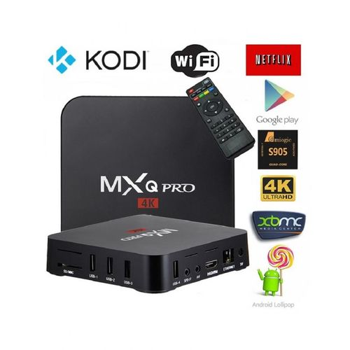 mxq mxq pro 4k tv box with android 6 1 wifi 1gb ram. Black Bedroom Furniture Sets. Home Design Ideas