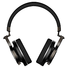 LEBAIQI Bluedio T3+ Bluetooth V4.1 Headphones With Mic Supporting TF Card (Black)