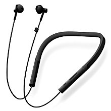 Xiaomi Necklace Bluetooth Earphone Wireless Earbuds with Mic and In-line Control Young Version - BLACK