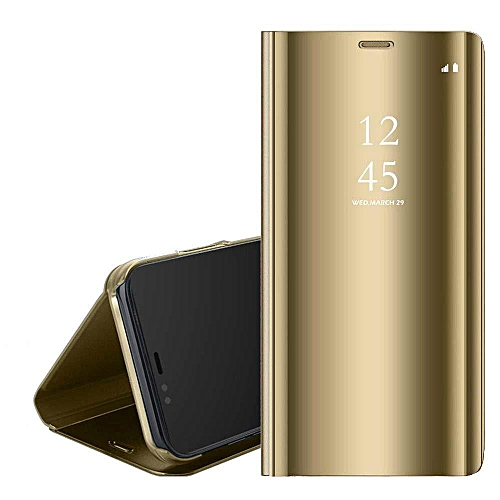 best website a9b09 648d5 For VIVO V11/V11 Pro Case,Clear View Standing Case With Mirror Plating Flip  Case For VIVO V11 Pro/V11 (Gold)