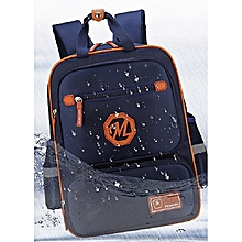 School Bag For Boys/Girl Waterproof Backpack - Blue
