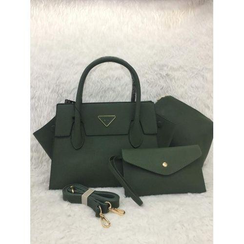 Ladies Handbag 3 in 1 - Green