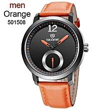 Simple Quartz Clock Male Elegant Leather Strap Wristwatch Fashion Casual Business Watches Men Quartz Watch Relogio