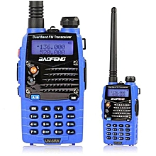 Baofeng UV-5RA Blue Dual Band Handheld Transceiver Radio Walkie Talkie US