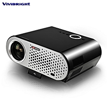 ViViBRiGHt GP90 Video Projector Home Theater 3200 Lumens 1280 X 800 Support 1080P US Plug - Black
