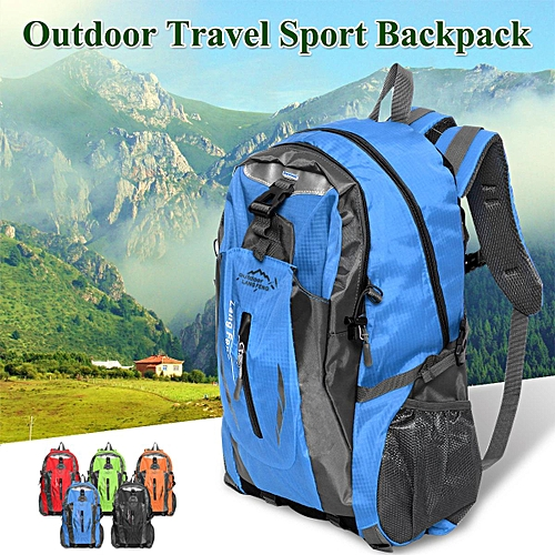 619107c0aa Generic Blue 40L Waterproof Outdoor Sport Hiking Camping Travel Backpack  Daypack Rucksack Bag   Best Price