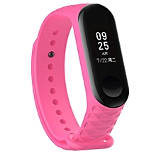Fashion Sport Soft Silicone Replacement Wristband Wrist Strap For Xiao Mi Band 3