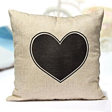 LOVE Valentine Couple Throw Pillow Case Cushion Cover Home Decor Set 17x17""