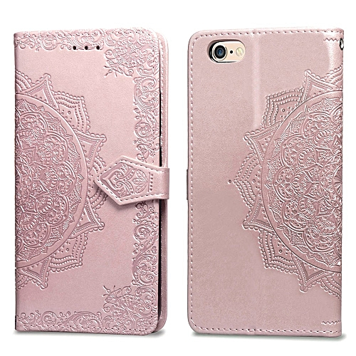39982445413 Generic iPhone 6S Plus Case,Mandala Embossing PU Leather Magnetic Flip  Folio Kickstand Wallet Case with Card Slots Case for Apple iPhone 6 Plus/6S  Plus 5.5