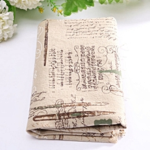 10 Vintage Europe Styles Natural Cotton Linen Fabric Cloth Sewing Craft D
