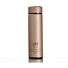 Vacuum Flask - 500ml - Gold + free gift