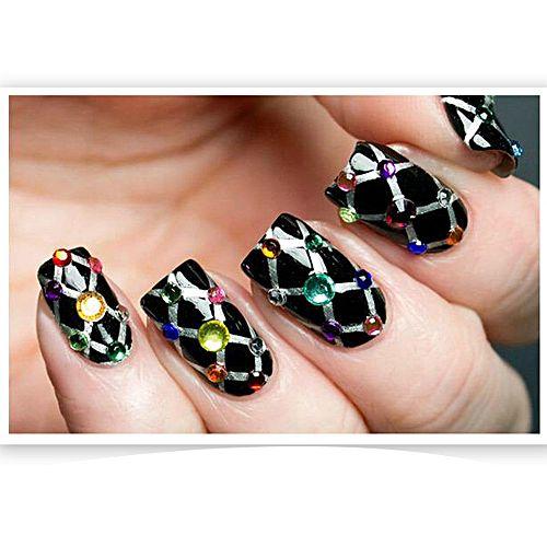 Nail Art 3d Minis Manicure Tips Decoration Wheel Intl Daftar Harga Source · 3D Hot Nail