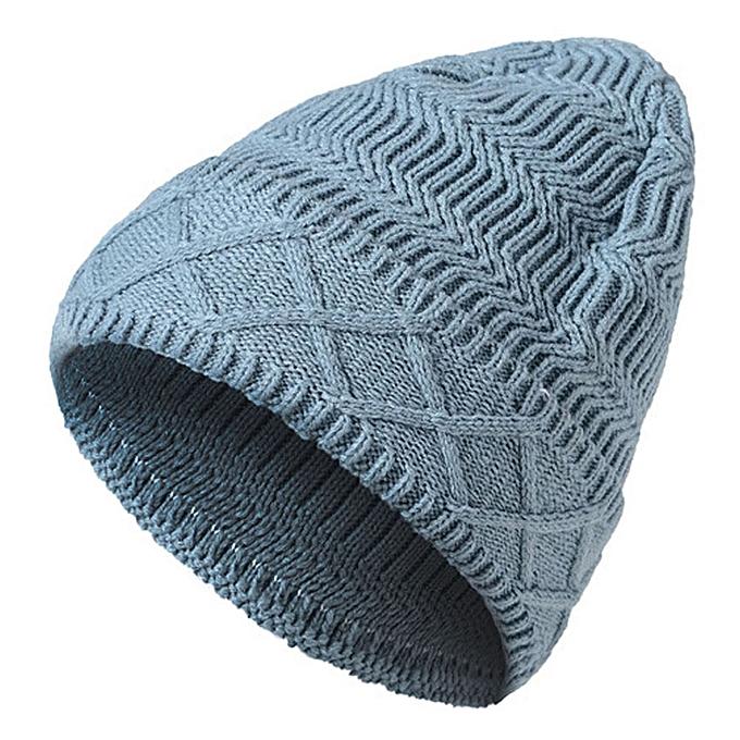 f12707d7daa27 Generic Men Women Baggy Warm Winter Wool Knit Ski Beanie Caps Hat GY ...