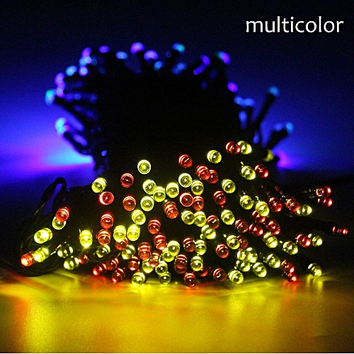 Generic 50 100 200 Led Outdoor Solar Lamps String Lights Fairy Holiday Christmas Party Garlands Garden