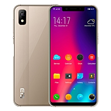 A4 3GB RAM 16GB ROM MTK6739 1.5GHz Quad Core 5.85 Inch Full Screen Side Fingerprint Android 8.1 4G LTE Smartphone Gold