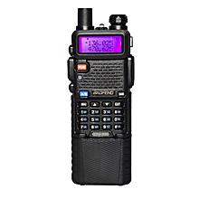 Upgrade BaoFeng UV-5R Walkie Talkie VH/UHF Dual Band Two Way Radio Transceiver 3800mah Battery EU