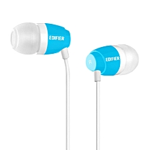 EDIFIER H210 High Quality In Ear Headphones (Blue) SWI-MALL