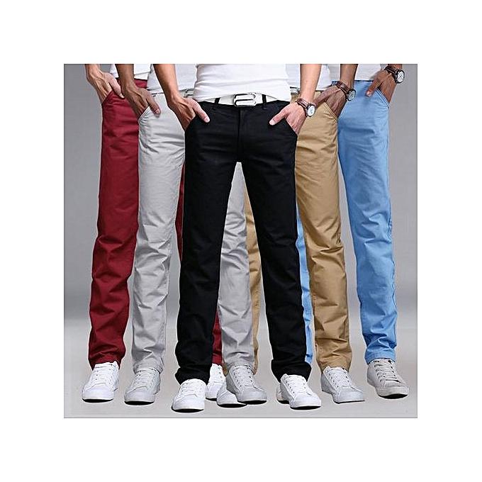 a31d7870427c TURKEY 5 Pack Mens Khaki Pants - Maroon, Off White, Black, Brown ...