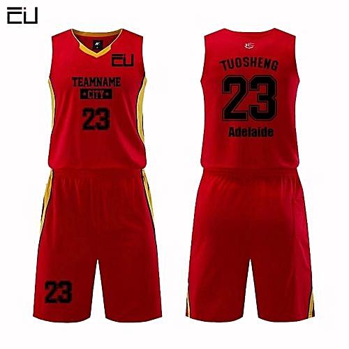 462fe6341 Longo Customized Name Number Men s Basketball Team Sport Jersey Uniform-Dark  Red(MDS-1702)