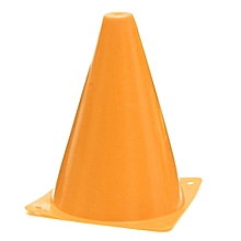 "1PCS 7"" Witches Hat Agility Cones Football Soccer Sports Drill Markers Slalom Orange PVC"