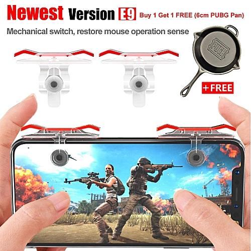 1Pair Best PUBG game mini joystick shooting aim key button auxiliary key  gamepad game controller Winner winner chicken dinner for PUBG,Last Battle