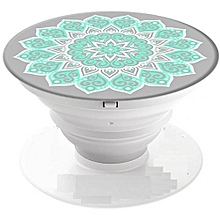 Multi Functional Mobile & Tablet Phone Pop Socket Smartphone Holder - Flower Print