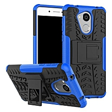 "[Nova Smart] Case, Hard PC+Soft TPU Shockproof Tough Dual Layer Cover Shell For 5.0"" Huawei Honor 6C/Enjoy 6S, Blue"