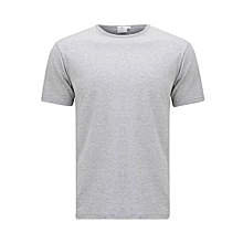Light Grey Round Neck Tshirt