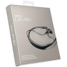 Level U Wireless Headphones with Microphone and UHQ Audio - Black