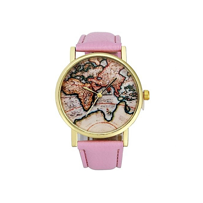 Buy fashion vintage earth world map watch alloy women analog quartz vintage earth world map watch alloy women analog quartz wrist watches pk gumiabroncs Image collections