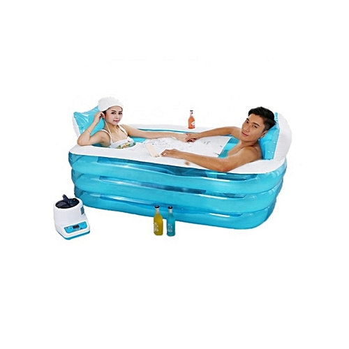China Image Universal Adult Child Portable Warm Bathtub Inflatable