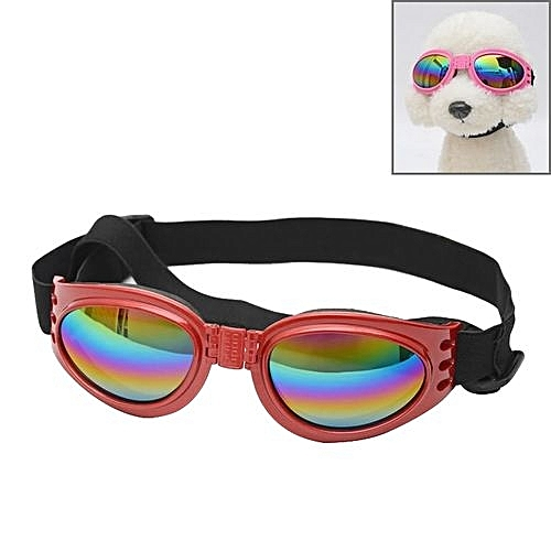 666d72cfd50 Generic Anti-fog Uv400 Dog Foldable Polarized Sunglasses For Dogs With 6kg  Weight Or Heavier(red)   Best Price