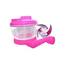 Cabbage Sukumawiki Vegetable Cutter Chopper Shredder - Pink