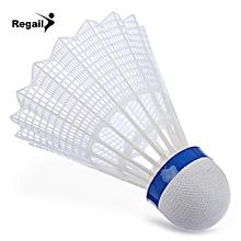 REGAIL 500 6pcs / Set Indoor Gym Exercise Outdoor Sport Nylon Badminton Ball White