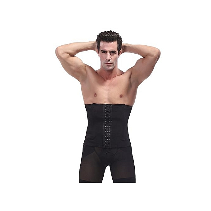 27f4c3ae8a Men Hot Body Shaper Slim Waist Tummy Girdle Belt Waist Cincher Corset Firm Waist  Trainer Slimming